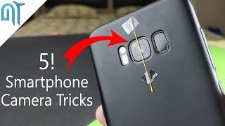 5 insanely Cool Smartphone Camera Tricks!