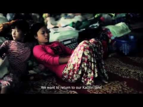 Burma - Kachin War - 45,000 refugees and internally displaced people are in refugee camps