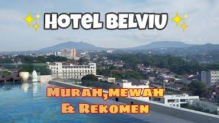 Hotel Belviu Bandung Kolam Renang Dengan Pemandangan Pegunungan Kota Bandung