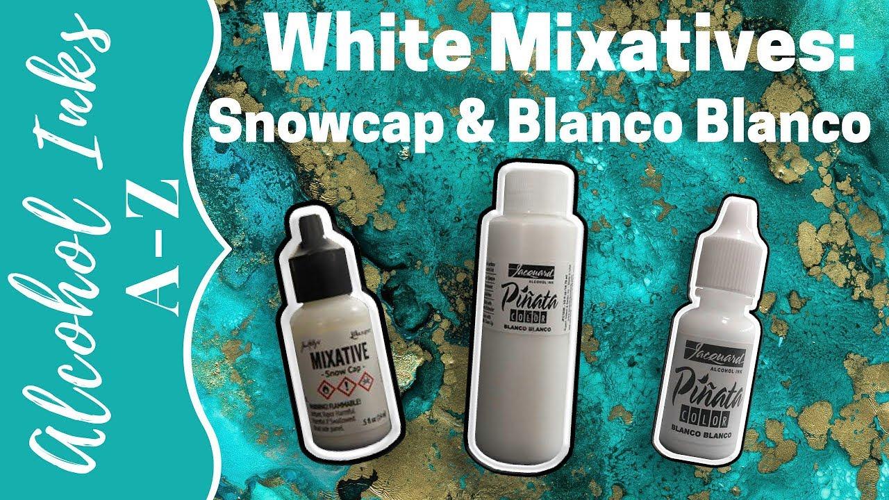 White Mixatives: Comparing Ranger Snowcap & Pinata Blanco Blanco
