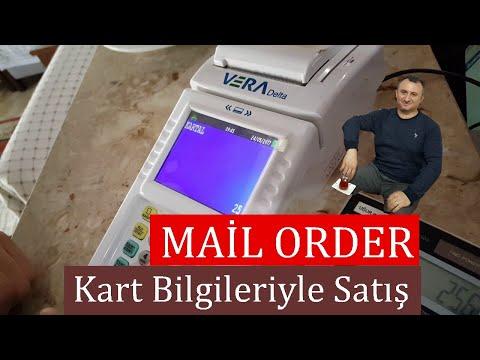 Kartsız Kredi Kartı  işlemi (Mail Order) Nasıl Yapılır ?