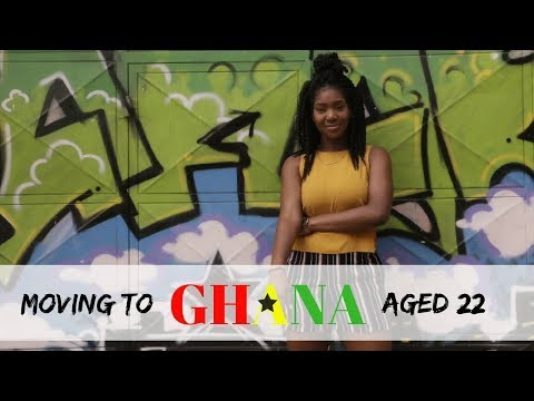 Moving to Ghana at age 22 #WAKANDAFORVER