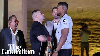'Two warriors will go to war': Joshua and Ruiz confident ahead of rematch