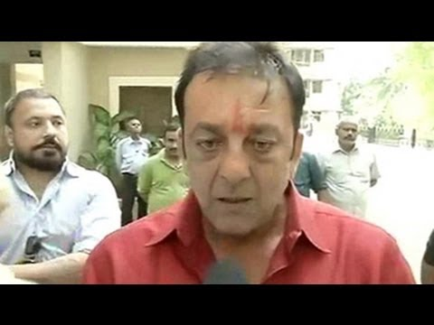 Want to spend time with family: Sanjay Dutt after reaching ...