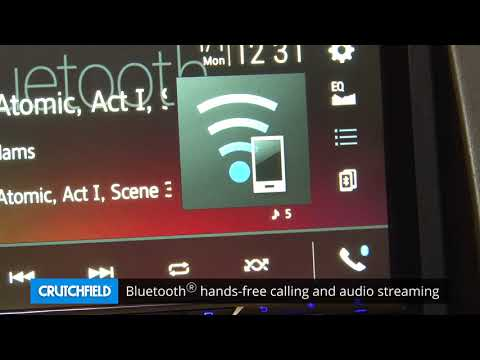Pioneer AVH-601EX Display And Controls Demo | Crutchfield Video