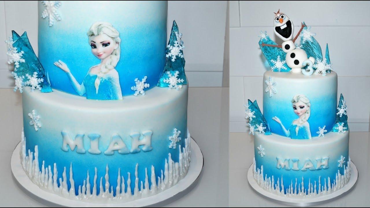 Cake Decorating Tutorials How To Make An Elsa Frozen