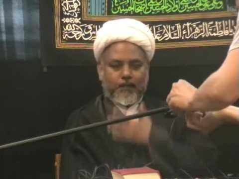 Bibi Fatimah Shahadat 2009 - Urdu Shia Islam Majlis Lecture - Nottingham UK p4/10