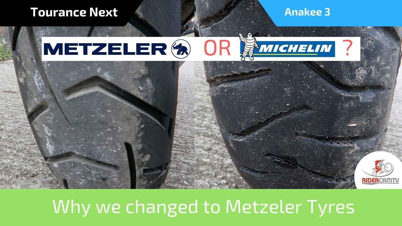 BMW R 1150 GS 2001 Metzeler Tourance Tyre Pair