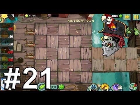 Plants Vs Zombies 2, Mares Piratas Día 21