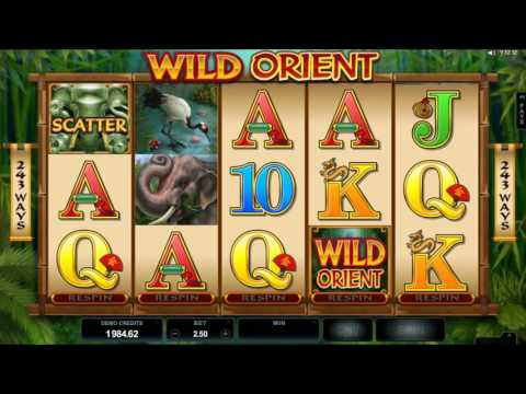 Wild Orient Online Slot from Microgaming - Free Spins & Re-Spin Feature!
