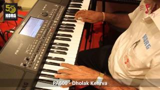 KORG PA-600 - Demo of Indian Styles
