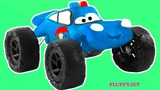 PAW PATROL Cars 3 Lightning McQueen Play Doh Stop Motion video Disney Pixar Cars Toys kids play time