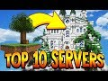 TOP 10 SKYBLOCK SERVERS 1.8/1.9/1.10/1.12/1.13 2018 [HD] (New Minecraft Servers)