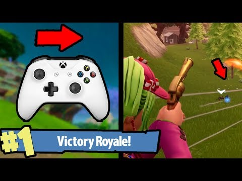 pc-player-uses-xbox-controller-(aimbot?)-in-fortnite:-battle-royale