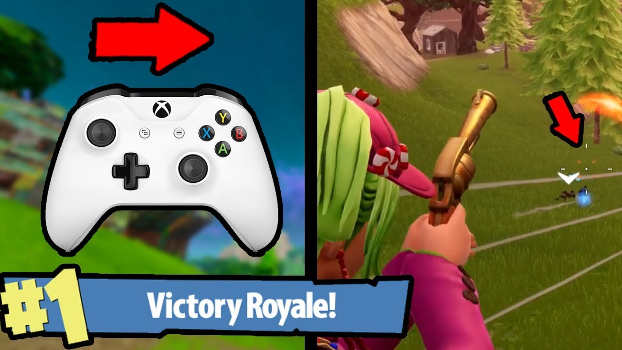aimbot controller xbox one fortnite