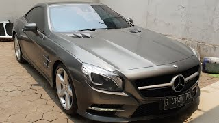 In Depth Tour Mercedes Benz SL 350 AMG Line [R231] (2013) - Indonesia