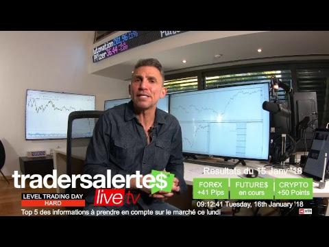 Hello Traders émission du 16/01/18
