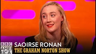 Saoirse Ronan's Handwriting Is Tattooed On Ed Sheeran's Arm - The Graham Norton Show
