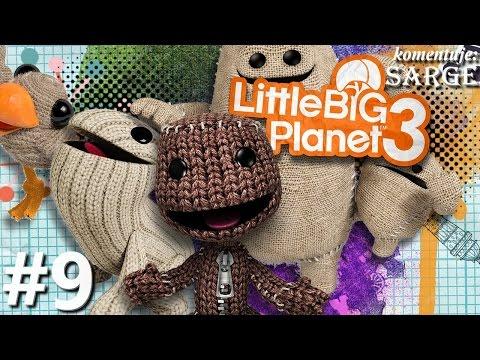 Zagrajmy w Little Big Planet 3 [PS4] odc. 9 - Latający Swoop