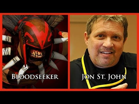 Characters and Voice Actors  DOTA 2