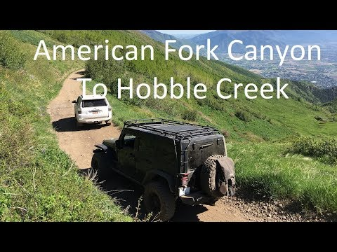 American Fork Canyon To Squaw Peak