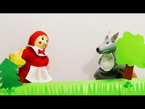 Мультфильм для детей - Сказка Красная Шапочка