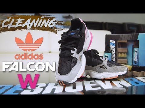 How to Clean Adidas Falcon Shoe