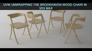 Unwrapping the Brookhaven Wood Chair in 3ds Max