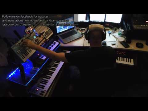 Meridian - Ambient / Space Music Live Jam - Micro Brute, JD-Xi, Reason 9.5, Beat Step Pro