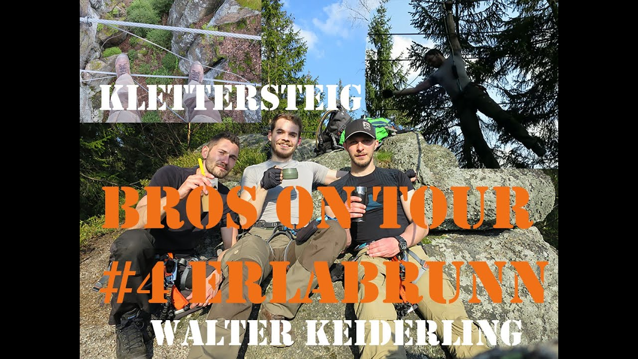 Klettersteig Erlabrunn : Bros on tour erlabrunn klettersteig youtube