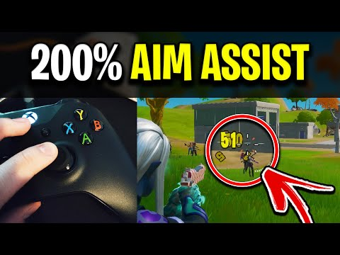 How To ENHANCE Aim Assist In Fortnite! (NEW Thumbstick Trick)