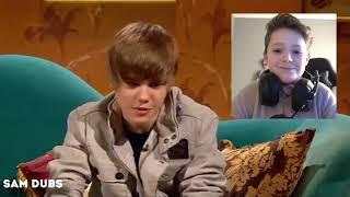 Reacting to Justin Bieber sings baby shark