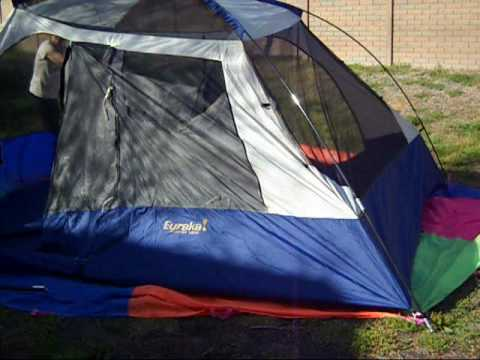 Ten Minute Tent Eureka N!ergy 1210 Family Tent Pitch 3-31-10 - YouTube & Ten Minute Tent: Eureka N!ergy 1210 Family Tent Pitch 3-31-10 ...