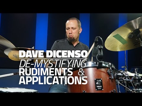 Dave DiCenso - De-Mystifying Rudiments & Applications (DRUMEO)