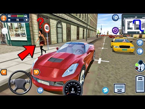Android Game: Car Driving School Simulator gameplay #21 - Car Games - 동영상