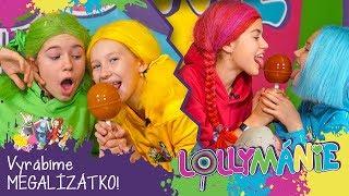 Lollymánie S02E38 - Vyrobte si MEGALÍZÁTKO! 🍭🍭🍭