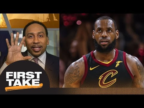 Stephen A Smith on LeBron James: Cant forget his record of losing NBA Finals  First Take  ESPN