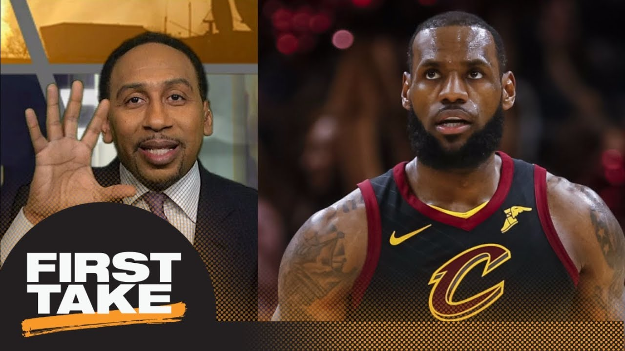 61a11c793db8 Stephen A. Smith on LeBron James  Can t forget his record of losing NBA  Finals