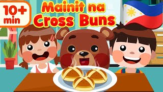 Hot Cross Buns in Filipino | Mga Awiting Pambata Rhymes Compilation