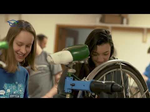 Cotter Schools STEM Project- Bike Lab