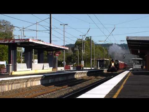 Australian Steam Locomotives - Queensland Rail - ARHS QLD Special