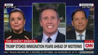 Журналистка CNN назвала Трампа расистской свиньей в прямом эфире