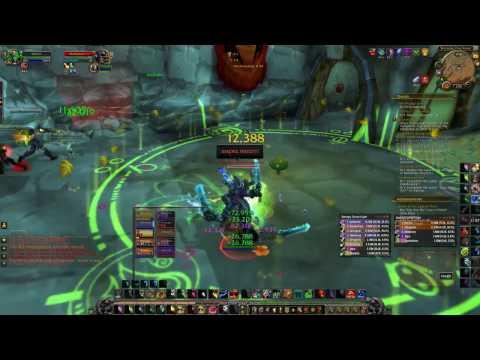 WoW-Legion Resto Druid BG Healing!