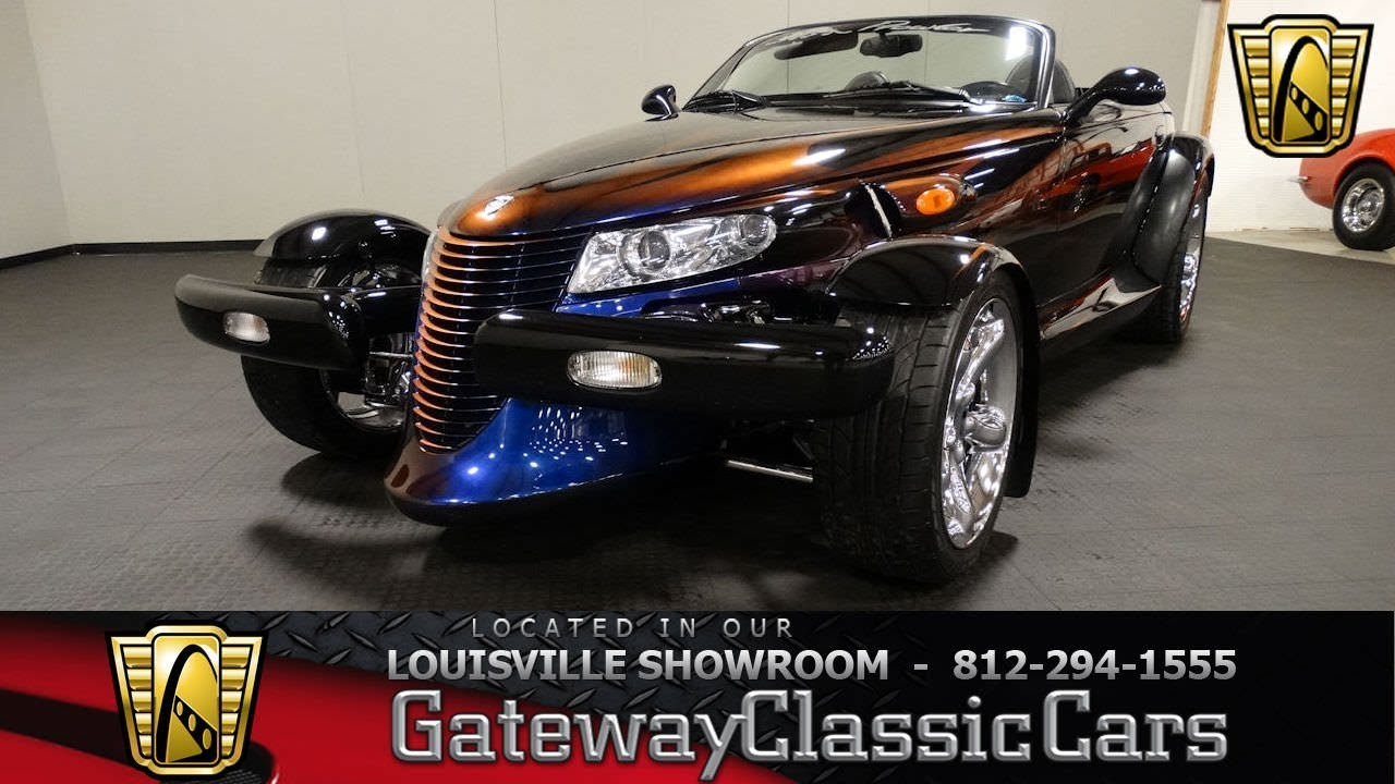 1999 Plymouth Prowler Supercharged Louisville Showroom Stock 2017