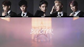 Double Eight 더블에이트 BOOSTER MV Lyrics Color Coded HanRomEng