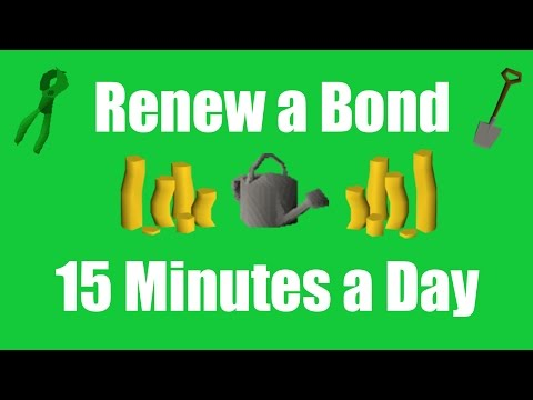 [OSRS] How to Renew a Bond Playing only 15 Minutes a Day - Oldschool Runescape Money Making Method