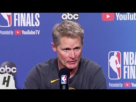 Steve Kerr Postgame Interview - Game 5 | Warriors vs Raptors | 2019 NBA Finals