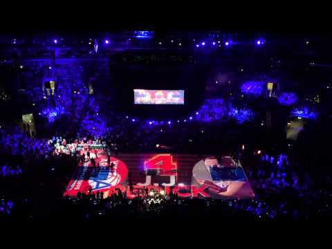 2015 NBA Playoffs San Antonio Spurs vs Los Angeles Clippers at Staples Center - Introduction