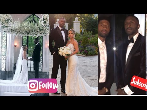 Patrick Patterson  wedding day celebration with Paul George and former Teammates in attendance