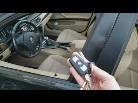 How To Lower And Raise Windows Using Fob On Bmw E90 Youtube